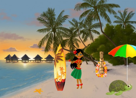 Welcome to paradise: Polynesia is being celebrated in August!