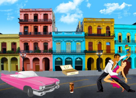 Set off on a hunt for items from Cuba and win prizes!