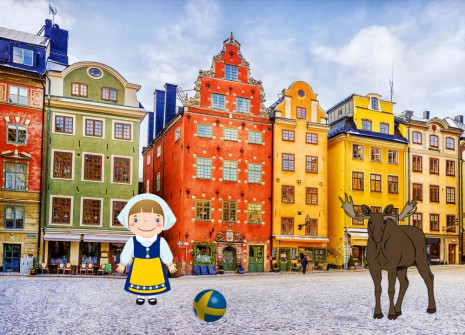 Get away from it all for the month of Sweden on Shinycatz!